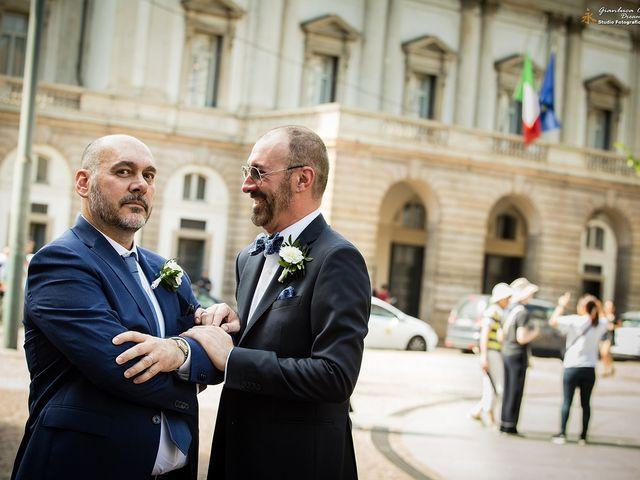 Il matrimonio di Stefano e Davide a Milano, Milano 36