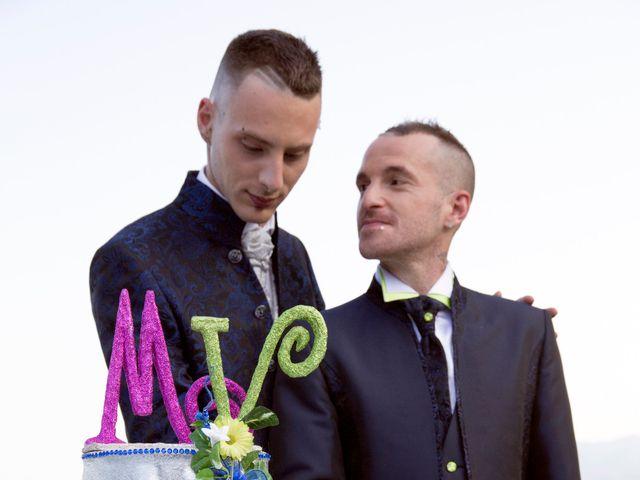 Il matrimonio di Michael e Valerio a Orta San Giulio, Novara 42