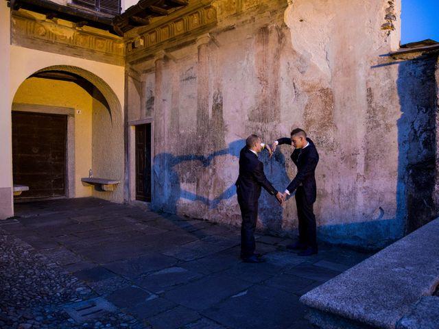 Il matrimonio di Michael e Valerio a Orta San Giulio, Novara 57