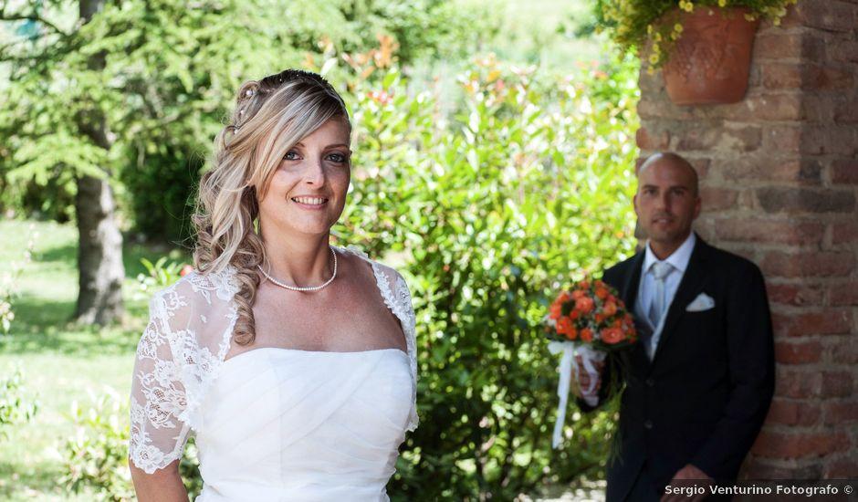 Il matrimonio di Marco e Silvia a Racconigi, Cuneo