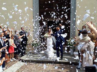 Le nozze di Alberto e Marina