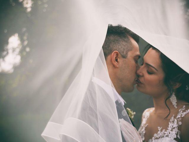 Le nozze di Alessandra e Danny