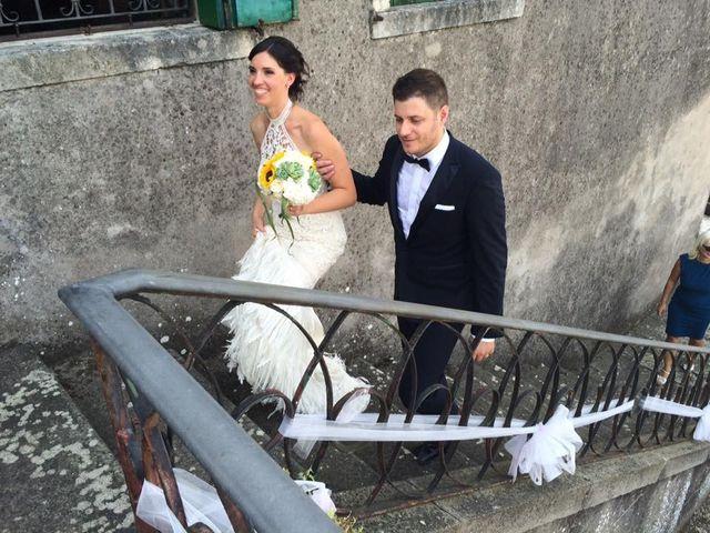 le nozze di Alessandro Turato e Claudia Zanovello