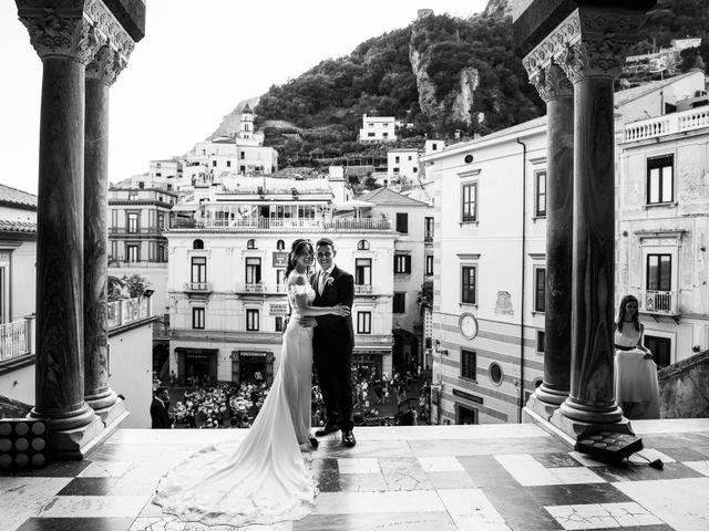 Il matrimonio di Norma e Ivan a Amalfi, Salerno 53