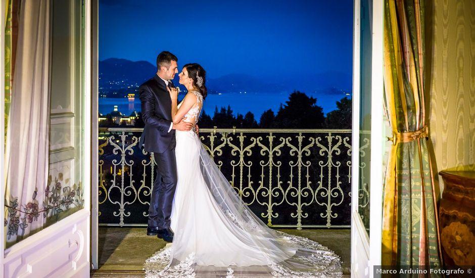 Il matrimonio di Matteo e Valentina a Stresa, Verbania
