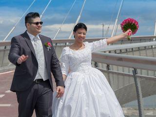 Le nozze di Evelyn e Gianluca