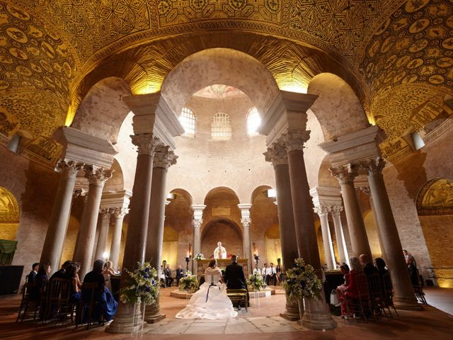 Il matrimonio di Fabrizio e Eugenia a Roma, Roma 1