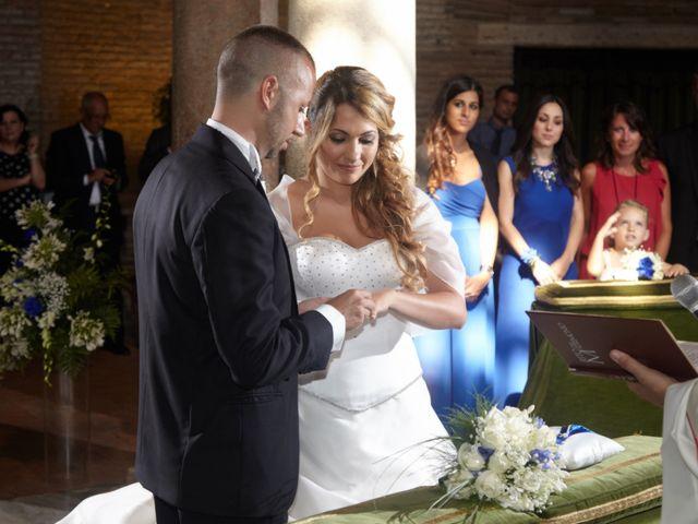 Il matrimonio di Fabrizio e Eugenia a Roma, Roma 2
