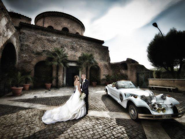 Il matrimonio di Fabrizio e Eugenia a Roma, Roma 13