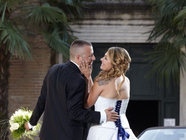 Il matrimonio di Fabrizio e Eugenia a Roma, Roma 15
