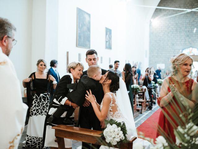 Il matrimonio di Marco  e Moira a Graffignano, Viterbo 27