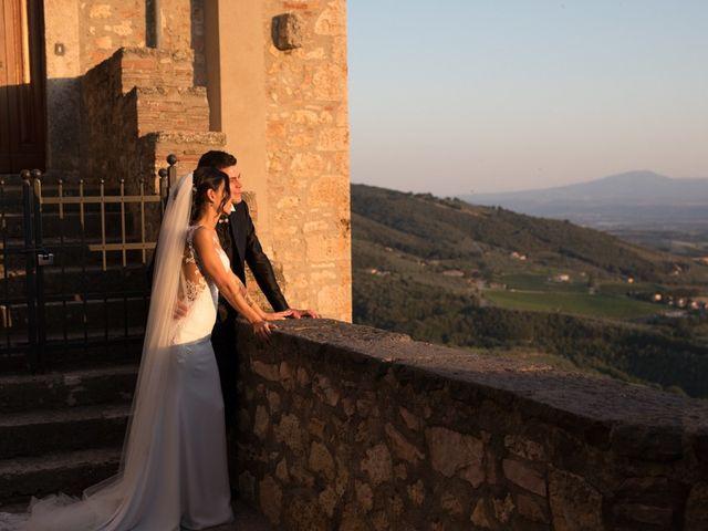 Il matrimonio di Marco  e Moira a Graffignano, Viterbo 31