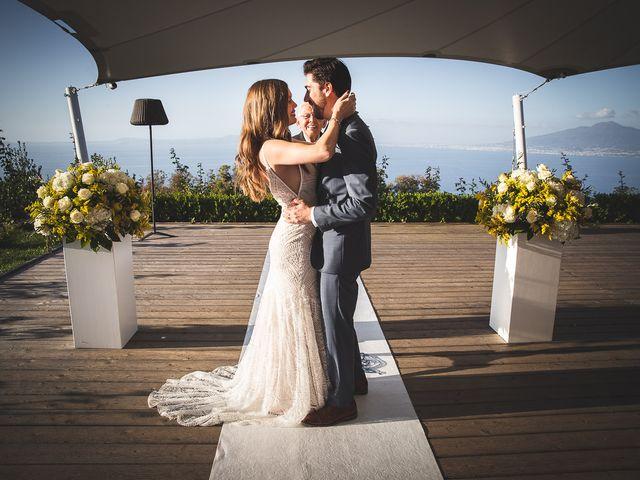 Il matrimonio di Trevor e Arianna a Sorrento, Napoli 64