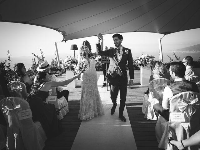 Il matrimonio di Trevor e Arianna a Sorrento, Napoli 65
