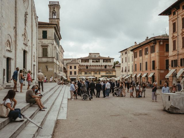 Il matrimonio di Michael e Francesca a Lucca, Lucca 34