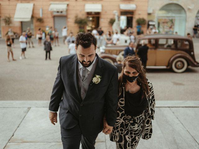 Il matrimonio di Michael e Francesca a Lucca, Lucca 41