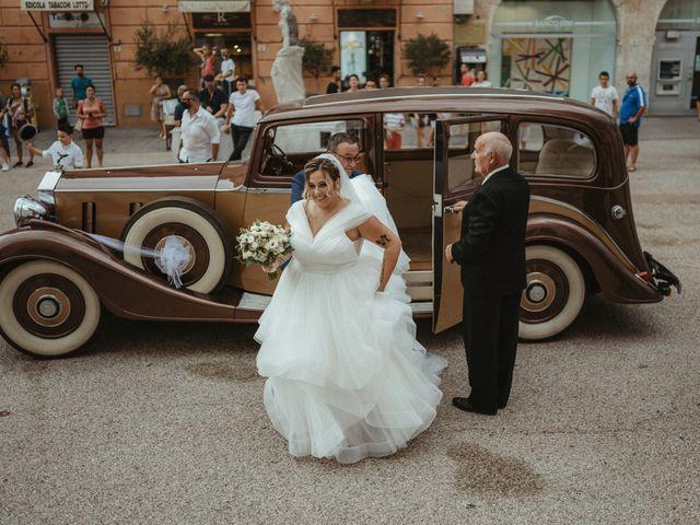 Il matrimonio di Michael e Francesca a Lucca, Lucca 45