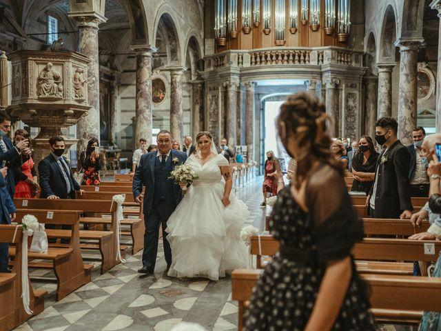 Il matrimonio di Michael e Francesca a Lucca, Lucca 47