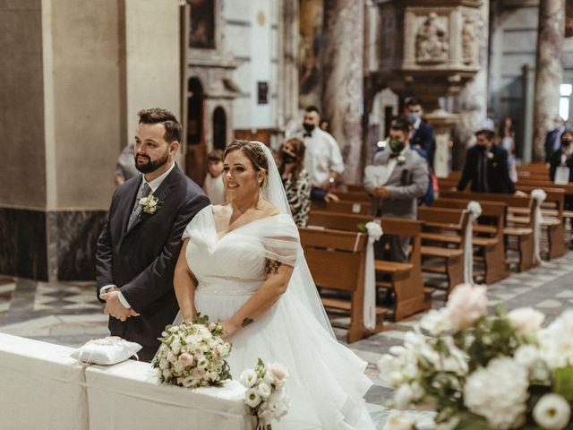 Il matrimonio di Michael e Francesca a Lucca, Lucca 54