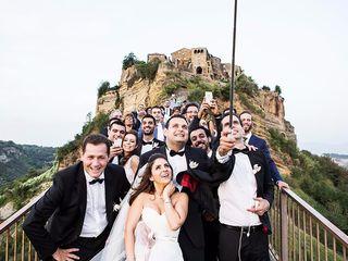 Le nozze di Jihan e Faraj