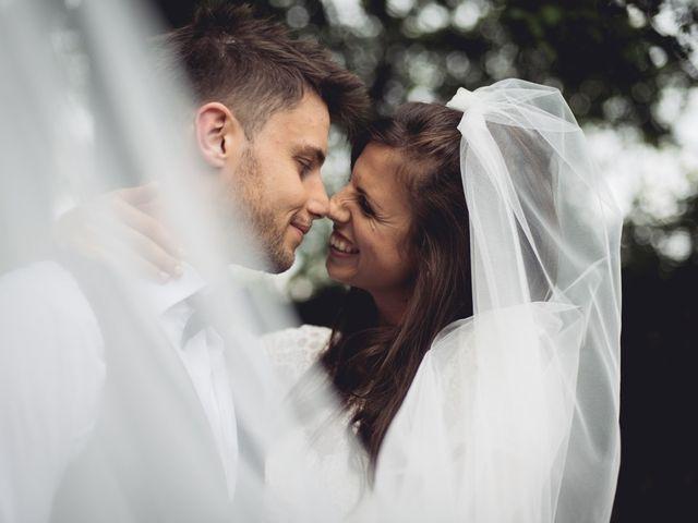 Le nozze di Patrizia e Cristian