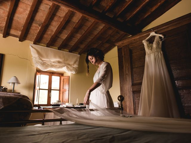 Il matrimonio di Massimo e Anna a Montespertoli, Firenze 14