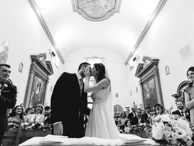 Il matrimonio di Massimo e Anna a Montespertoli, Firenze 40