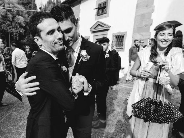 Il matrimonio di Massimo e Anna a Montespertoli, Firenze 43