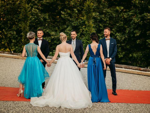 Il matrimonio di Tiziano e Marta a Corneliano d'Alba, Cuneo 54