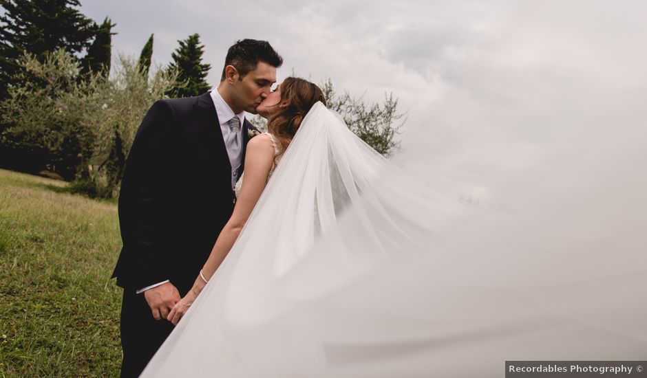 Il matrimonio di Massimo e Anna a Montespertoli, Firenze