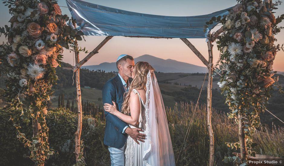 Il matrimonio di Helena e Michael a Pienza, Siena