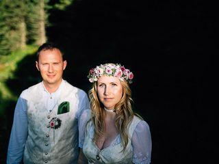 Le nozze di Nadine e Sven
