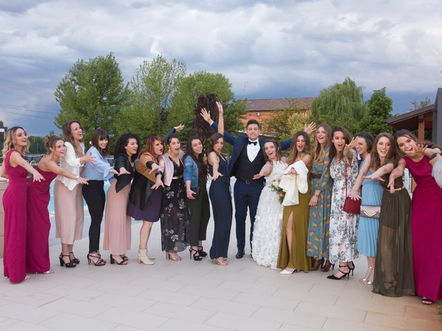 Il matrimonio di Simone e Alessia a Reggio nell'Emilia, Reggio Emilia 56