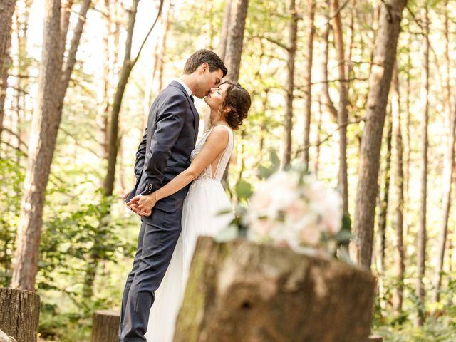 Il matrimonio di Luca e Melissa a Appiano Gentile, Como 1