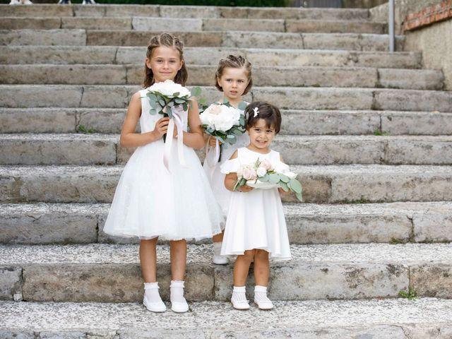 Il matrimonio di Luca e Melissa a Appiano Gentile, Como 35
