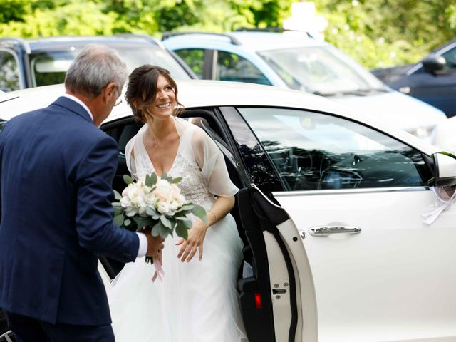 Il matrimonio di Luca e Melissa a Appiano Gentile, Como 37