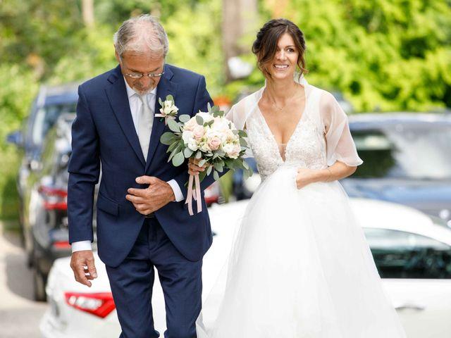 Il matrimonio di Luca e Melissa a Appiano Gentile, Como 38