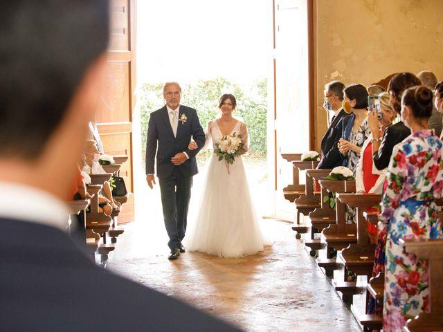 Il matrimonio di Luca e Melissa a Appiano Gentile, Como 40