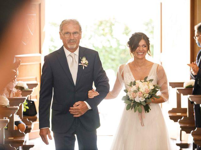 Il matrimonio di Luca e Melissa a Appiano Gentile, Como 41