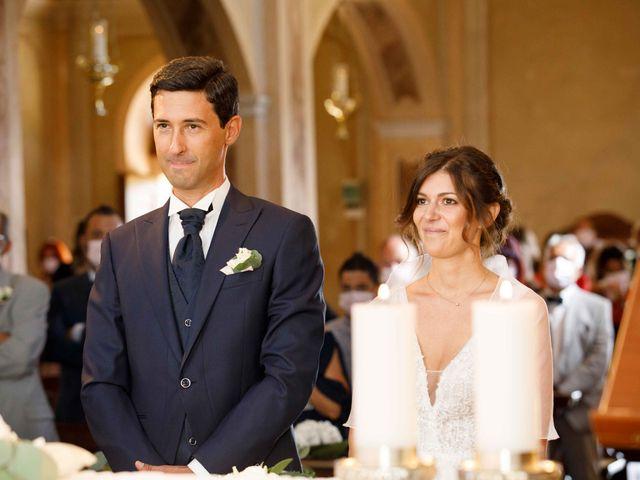 Il matrimonio di Luca e Melissa a Appiano Gentile, Como 42