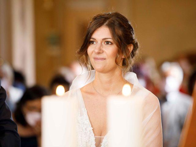 Il matrimonio di Luca e Melissa a Appiano Gentile, Como 43