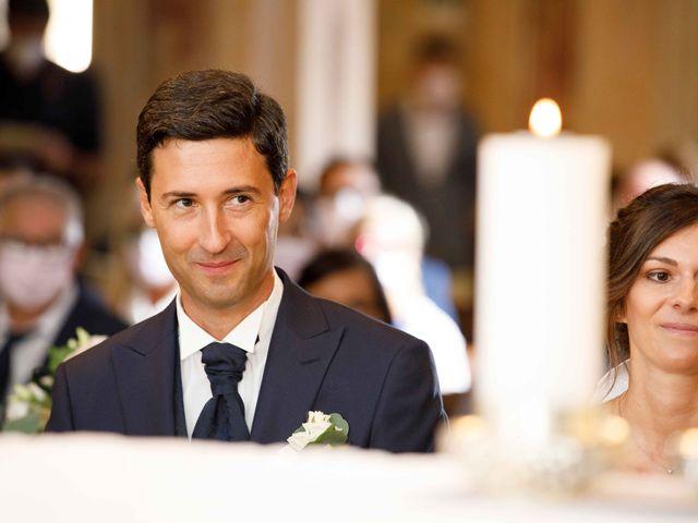 Il matrimonio di Luca e Melissa a Appiano Gentile, Como 45