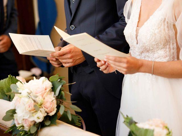 Il matrimonio di Luca e Melissa a Appiano Gentile, Como 46
