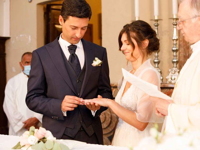 Il matrimonio di Luca e Melissa a Appiano Gentile, Como 51