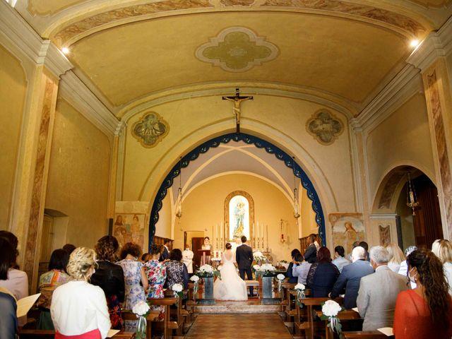 Il matrimonio di Luca e Melissa a Appiano Gentile, Como 55