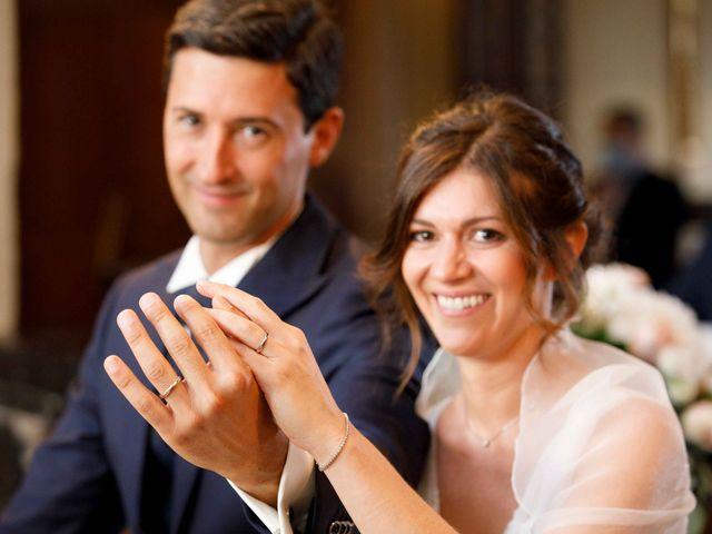 Il matrimonio di Luca e Melissa a Appiano Gentile, Como 58