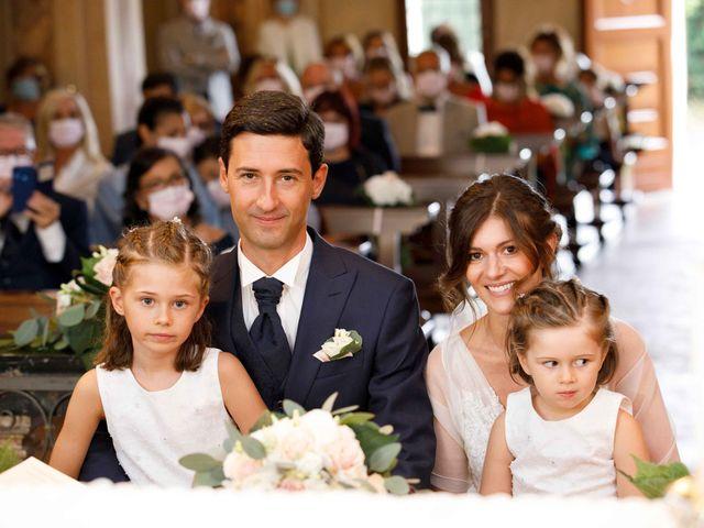 Il matrimonio di Luca e Melissa a Appiano Gentile, Como 60