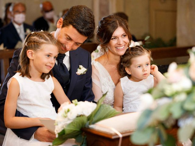 Il matrimonio di Luca e Melissa a Appiano Gentile, Como 63