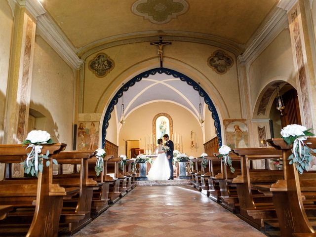 Il matrimonio di Luca e Melissa a Appiano Gentile, Como 64