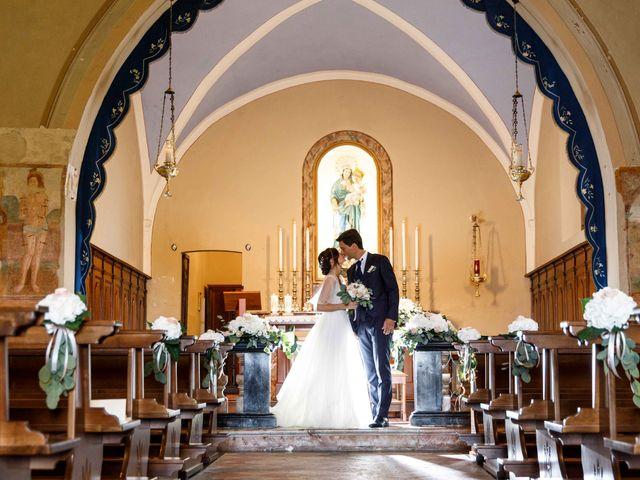 Il matrimonio di Luca e Melissa a Appiano Gentile, Como 65